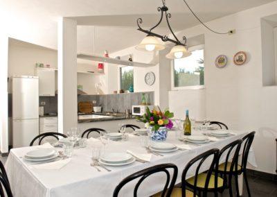 Villa Pieve - cucina/tinello