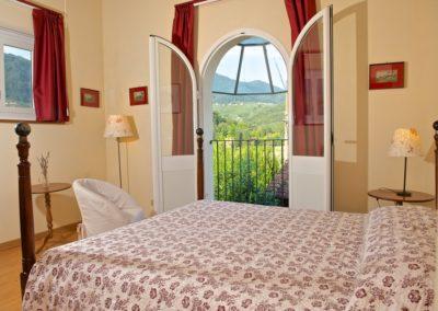 Villa Pieve - camera da letto