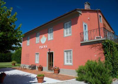 Villa Pieve - Facciata
