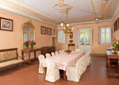 Villa Iolanda - il salone