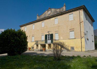 Villa Iolanda - Facciata esterna